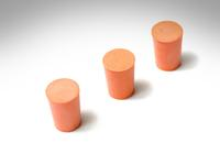 Rubber stoppers (3)